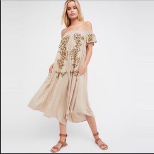 NWT Free People High Road Wide Leg Jumpsuit